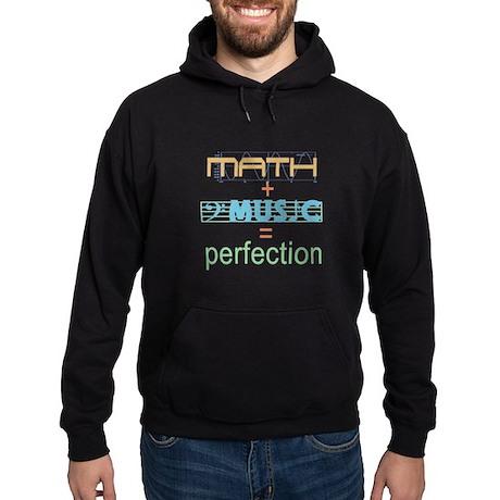 math and music Hoodie (dark)