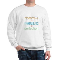 math and music Sweatshirt