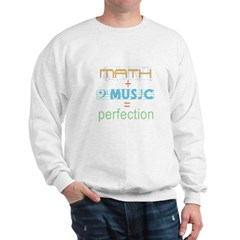 math and music Sweatshirt