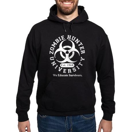 A Zombie Hunter University Hoodie (dark)