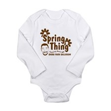 Boots - Spring Thing Long Sleeve Infant Bodysuit