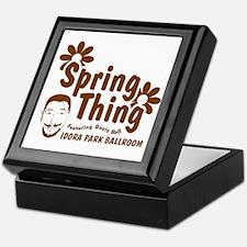 Boots Bell Spring Thing Keepsake Box
