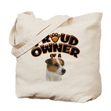 Proud Owner of a Jack Russell Tote Bag