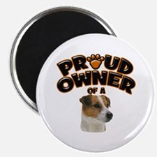 Proud Owner of a Jack Russell Magnet