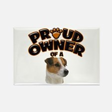 Proud Owner of a Jack Russell Rectangle Magnet