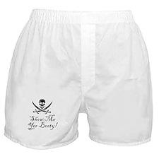 Cute Pirate surrender Boxer Shorts