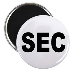 SEC Securities and Exchange Commission Magnet