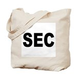 SEC Securities and Exchange Commission Tote Bag