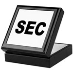 SEC Securities and Exchange Commission Tile Box
