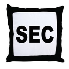 SEC Securities and Exchange Commission Throw Pillo