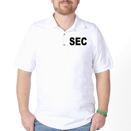 SEC Securities and Exchange Commission Golf Shirt