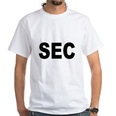 SEC Securities and Exchange Commission (Front) Whi