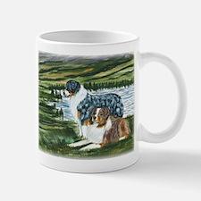 Austrailian Shepherd Blue and Small Small Mug