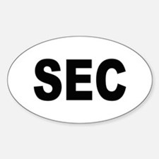 SEC Securities and Exchange Commission Decal