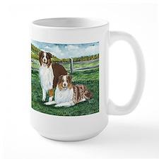 Austrailian Shepherd Reds Mug