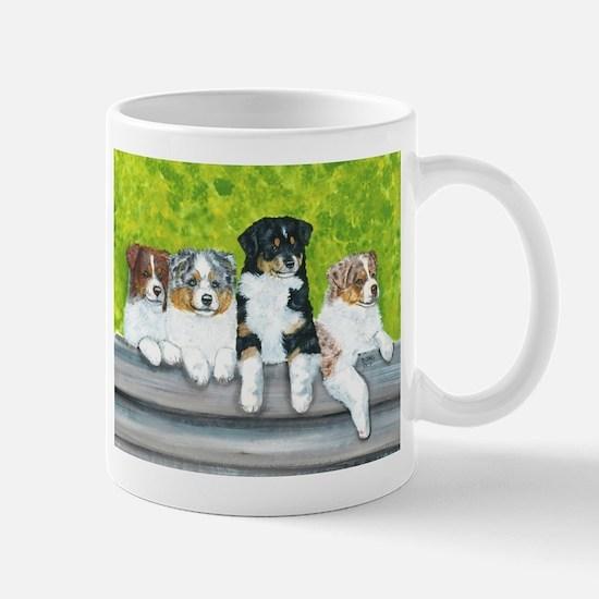 Austrailian Shepherd Puppy Li Mug