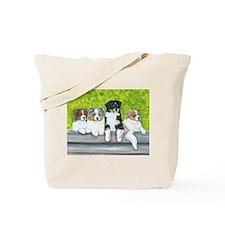 Austrailian Shepherd Puppy Li Tote Bag