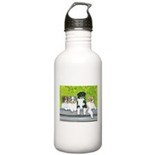 Austrailian Shepherd Puppy Li Water Bottle