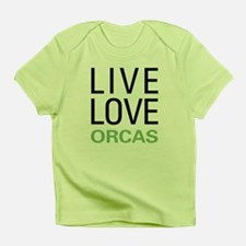 Live Love Orcas Infant T-Shirt