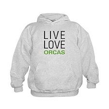 Live Love Orcas Hoodie