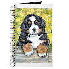 Bernese Mountain Dog Fence Pu Journal