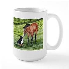 Bernese Mountain Dog Pup and Mug