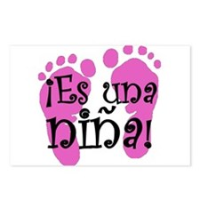 Es una niña! Postcards (Package of 8)