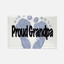Proud Grandpa (Boy) Rectangle Magnet