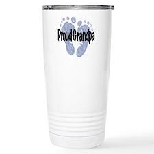 Proud Grandpa (Boy) Travel Mug