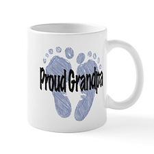 Proud Grandpa (Boy) Small Small Mug