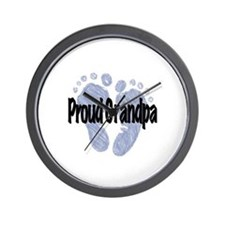Proud Grandpa (Boy) Wall Clock