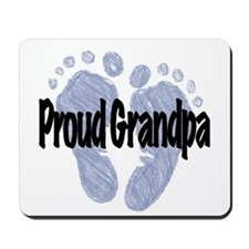 Proud Grandpa (Boy) Mousepad
