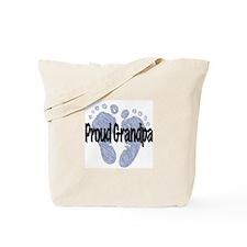 Proud Grandpa (Boy) Tote Bag