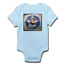 """Bad Betty"" Nose Art Infant Bodysuit"