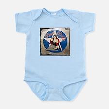 """Bad Betty"" Nose Art Infant Bodysuit"