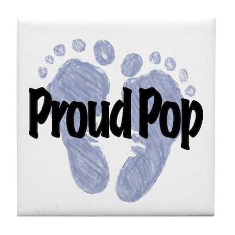 Proud Pop (Boy) Tile Coaster