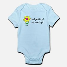 Bad Poetry, Oh Noetry! Infant Bodysuit