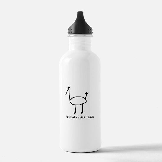 Cute Chickens pets Water Bottle