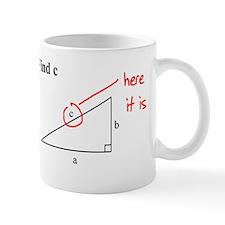 Right Triangle Find C or Find Mug