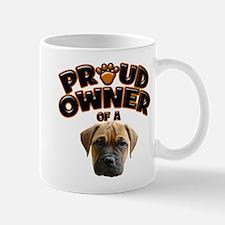 Proud Owner of a Bull Mastiff Mug