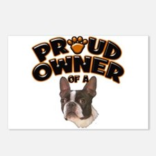 Proud Owner of a Boston Terrier Postcards (Package