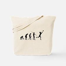 Evolution Football Tote Bag