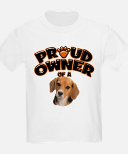 Proud Owner of a Beagle T-Shirt