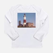 Montauk Lighthouse Long Sleeve Infant T-Shirt
