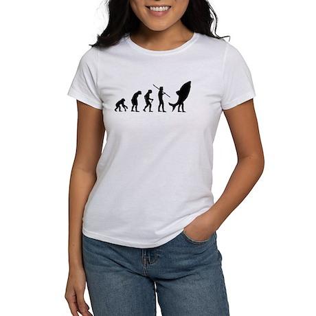 Evolution Shark Costume Land Women's T-Shirt