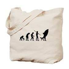 Evolution Shark Costume Land Tote Bag