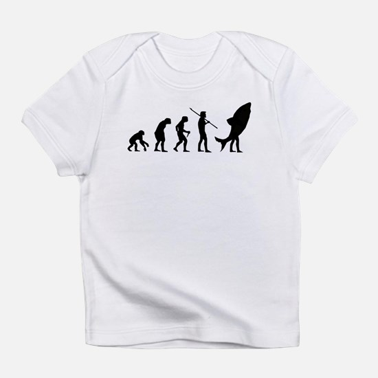 Evolution Shark Costume Land Infant T-Shirt