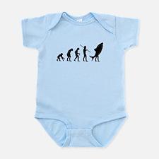 Evolution Shark Costume Land Infant Bodysuit