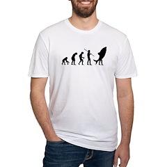 Evolution Shark Costume Land Fitted T-Shirt