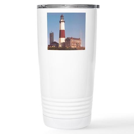 Montauk Lighthouse Stainless Steel Travel Mug